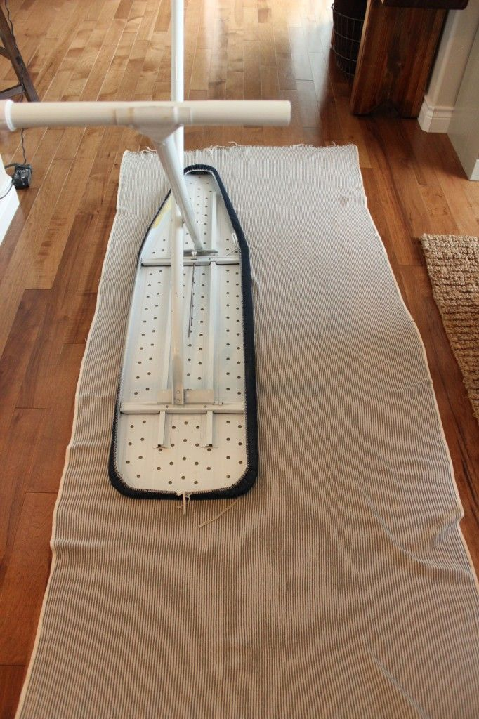 DIY - Re-cover an ironing board