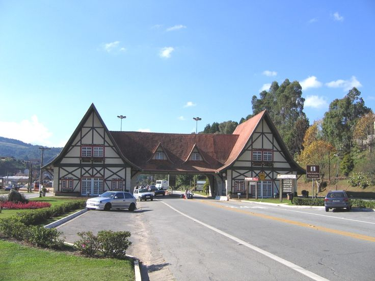 The beautiful, cold and warm Campos do Jordao - SP
