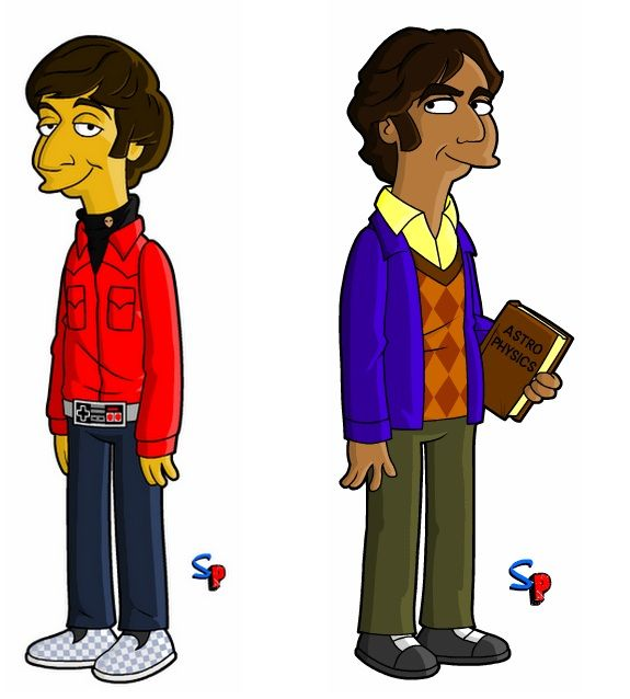 Big bang theory :) Rajesh Koothrapaali and Howard Wolowitz