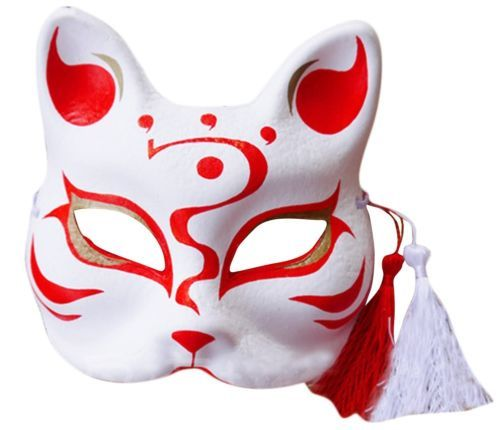 High-Quality-Yamato-Style-Hand-draw-Mask-Japanese-Fox-Mask