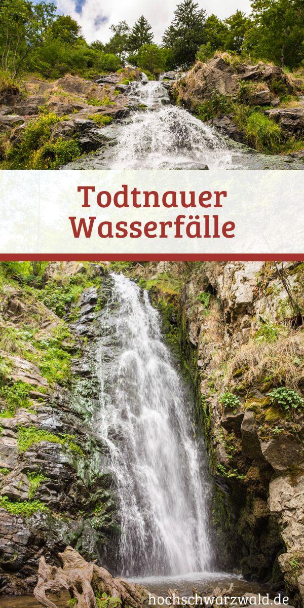 Der Todtnauer Wasserfall ist eines der schönsten Naturdenkmäler Deutschlands. Mitten im Schwarzwald stürzt er 97 Meter ins Tal. Perfekt für einen kleinen Ausflug und eine entspante Wanderung.