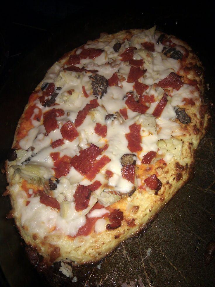 Cauliflower Crust Pizza | Me and Jorge: Belly Fat Cure Diet | Belly Fat Cure by Jorge Cruise