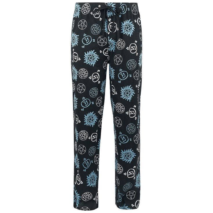 Symbols - Pyjamabroek van Supernatural