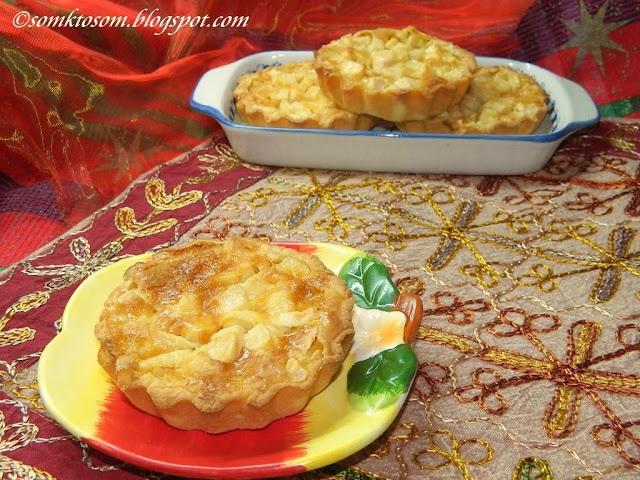 RECEPTY Z MOJEJ KUCHYNE: Jablkové koláčiky - tartaletky