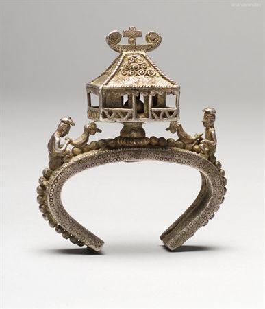 Silver bracelet, XX, East Timor