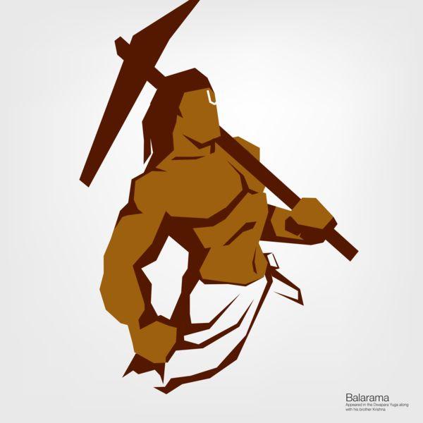 Balarama Avatar - Minimalism