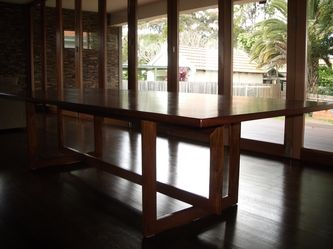 cheery wood dining table