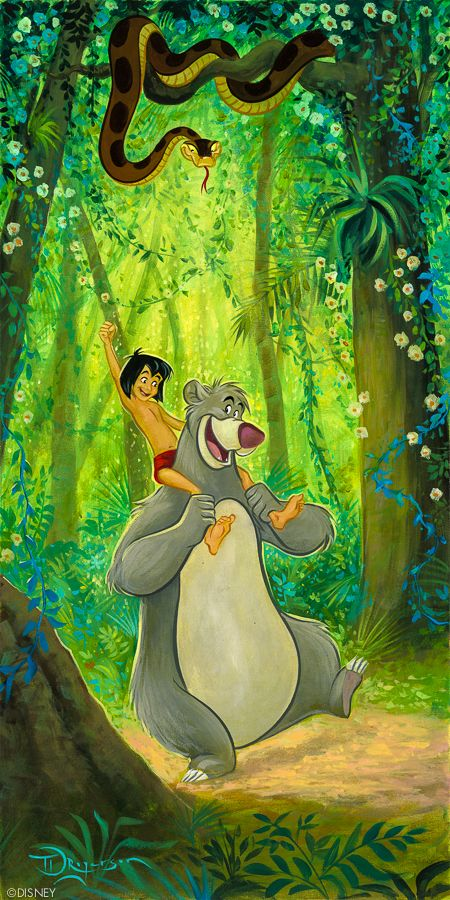 "Baloo's Buddy from ""The Jungle Book"""