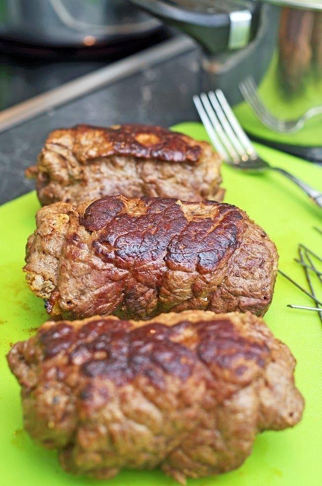 stuttgartcooking: Rinderrouladen mit Kartoffel-Püree und Blaukraut