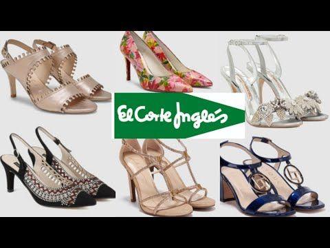 0804e2555dd De Corte Inglés Mujer Verano Primavera 2018Nueva El Zapatos gyY67bf