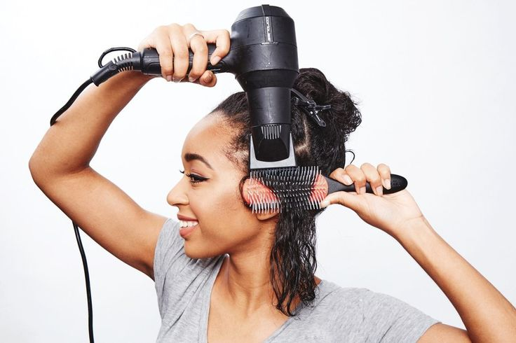 The Mistake: Using a Comb Attachment on Your Blow Dryer