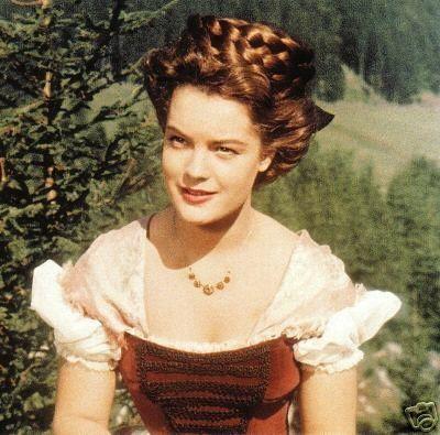 """Romy Schneider as Sissi, """"Sissi"""" (1955)"""