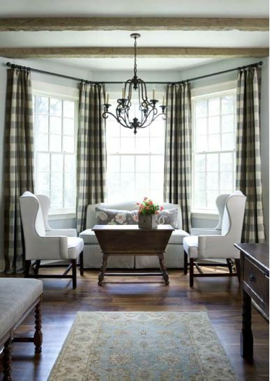 25 best ideas about gingham curtains on pinterest check for Gingham decorating ideas