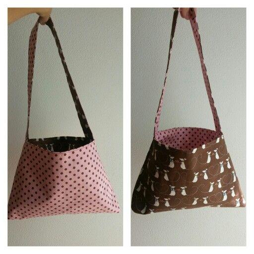 Oboustranna taška, reversable bag