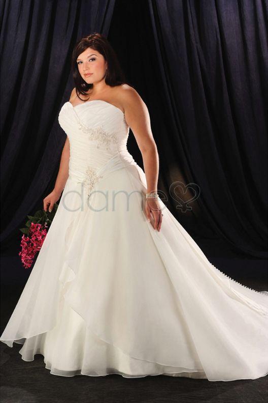 65 best mollige Frauen images on Pinterest   Hochzeitskleider ...