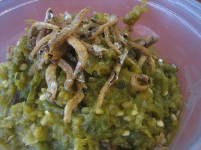 Sambal Lado Teri jo Patai (Green Chili sambal with Anchovy)