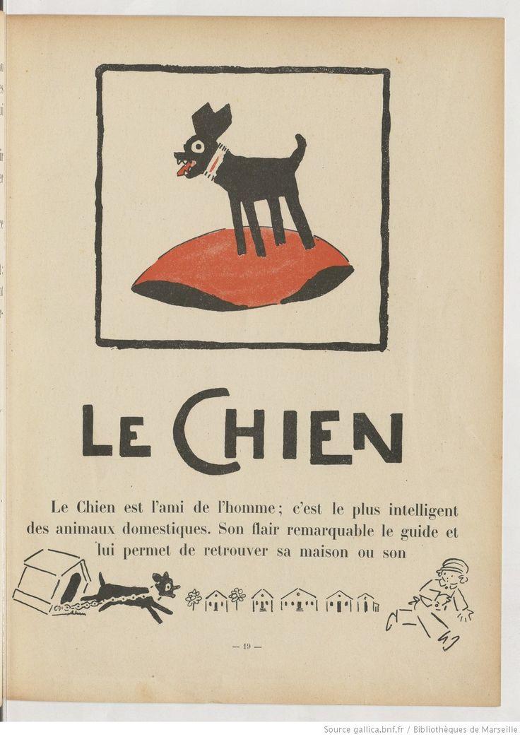 Le chien, L'Arche de Noé. Texte et dessins de André Hellé | 1925