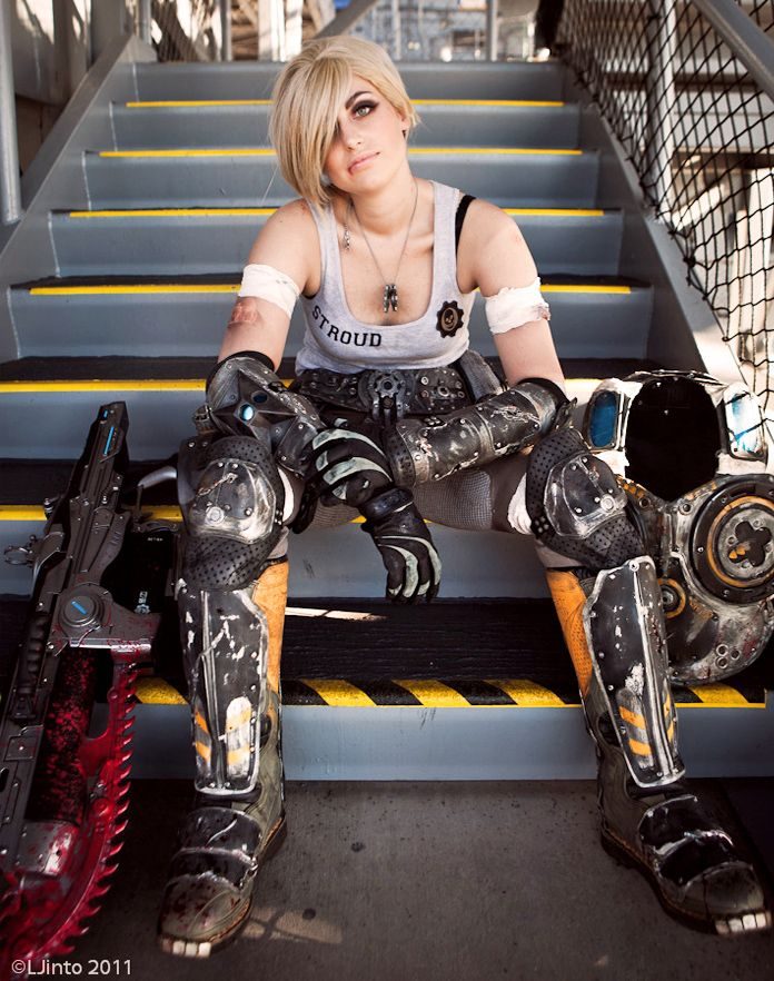 Anya Stroud cosplay by Meagan Marie - Gears of War