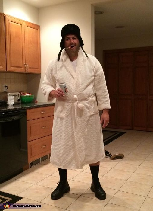 Joseph: Cousin Eddie from the movie Christmas Vacation. Merry Christmas, SH&!@ER was full.