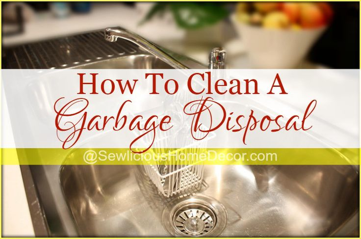 how to clean a garbage disposal clean garbage disposal garbage disposals and cleanses. Black Bedroom Furniture Sets. Home Design Ideas