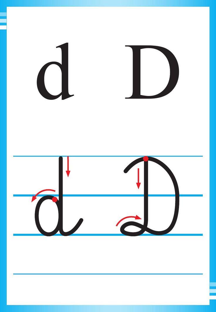 Alfabet polski, pisany dla dzieci do druku 9