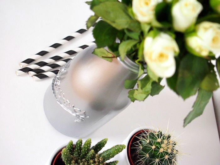 Vase selbst gemacht