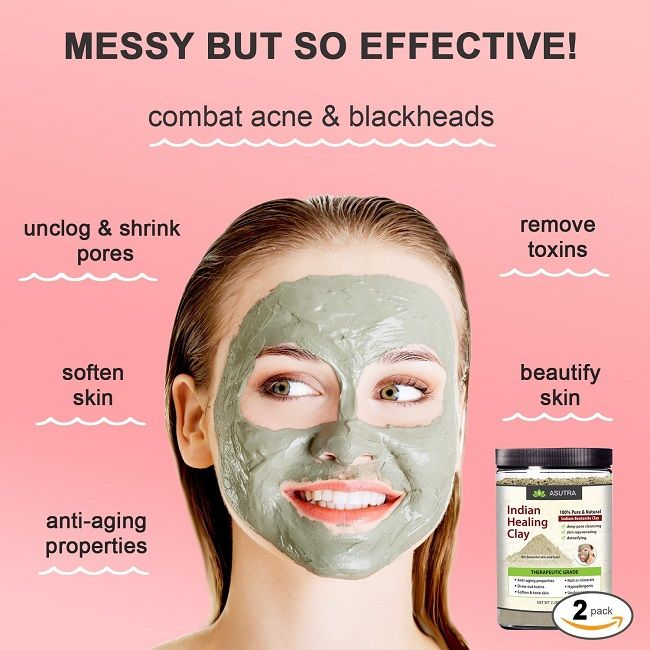 12 Best Clay Face Mask Products For Blackheads In India Styles At Life Clay Face Mask Face Mask For Pores Pore Mask