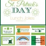 St. Patricks Day Lunch Jokes for Kids - lots of other lunchbox jokes themes too