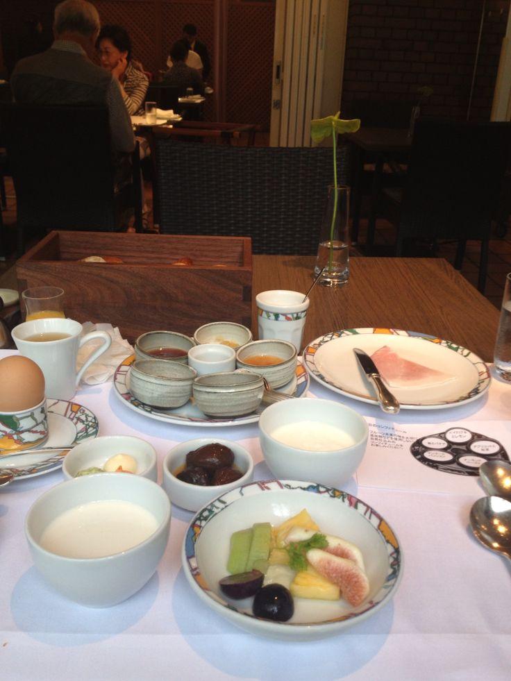 世界一の朝食@神戸北野ホテル