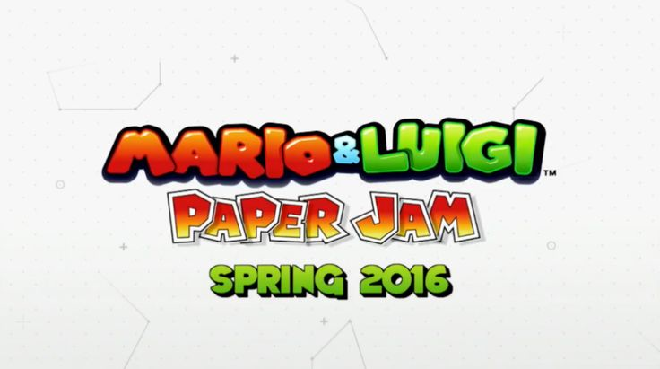 'Mario & Luigi: Paper Jam' drops on 3DS next spring  Mario fans rejoice! A new the Mario and Luigi game is on its way.
