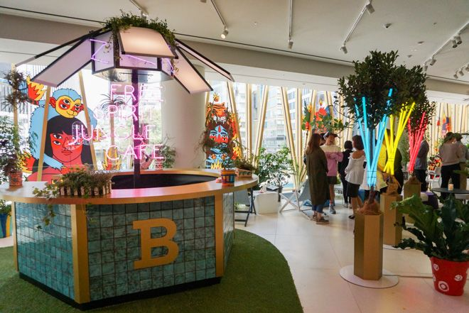 「バリー(BALLY)」が、9月30日から10月9日まで世界初のポップアップカフェ「BALLY CAFE」をバリー銀座店にオープンする。