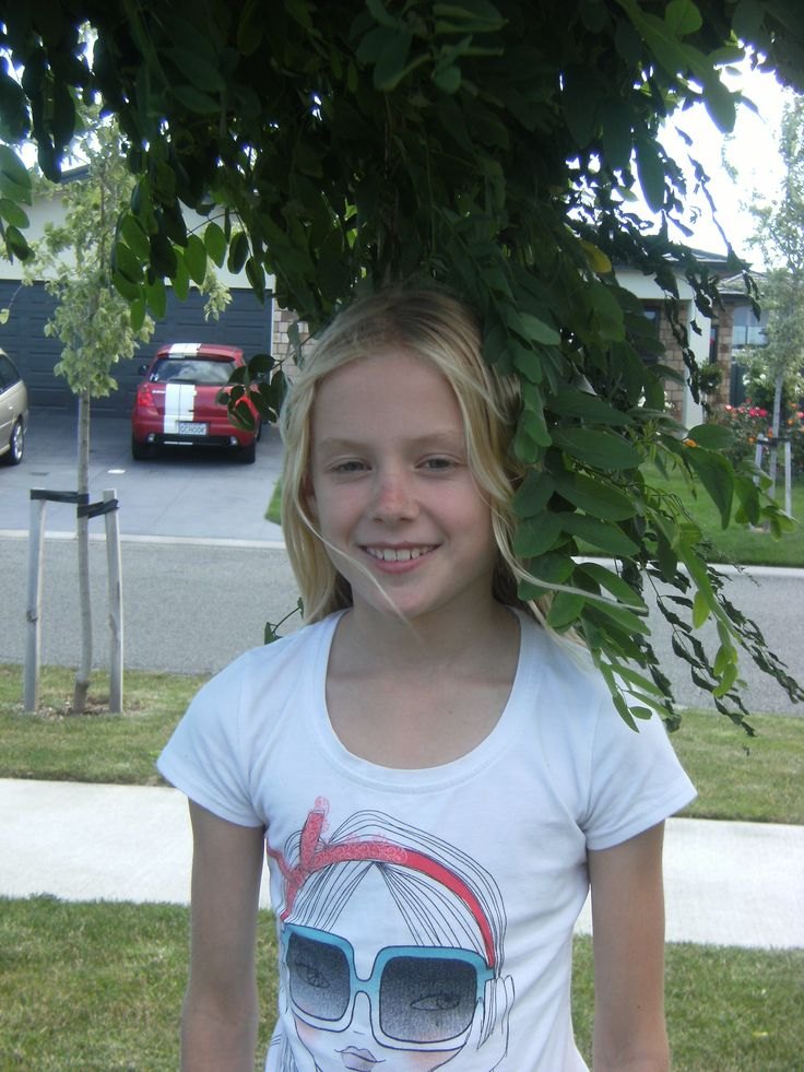My twin sister Cayla :)