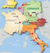 Grand European Tour Preview 2014 (nice tour stops all-over europe....)