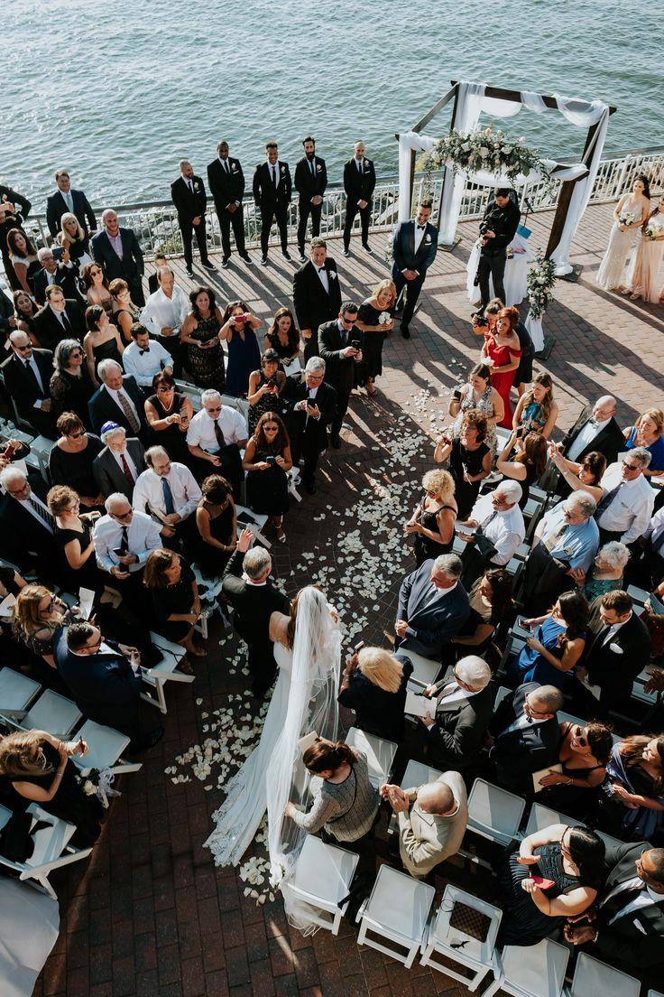 Jewish ceremony at Liberty Warehouse in Brooklyn NY; PHOTOGRAPHY by Joel + Justyna Bedford;