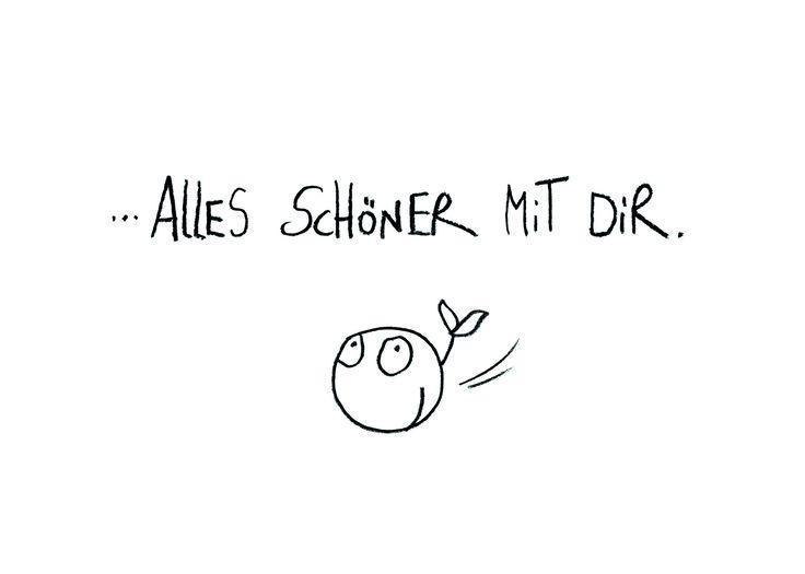 """Postkarte """"Alles schöner"""" – eDITION GUTE GEISTER"""