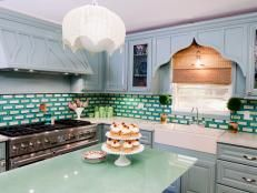 Paint Your Kitchen Cabinets Without Sanding or Priming | HGTV