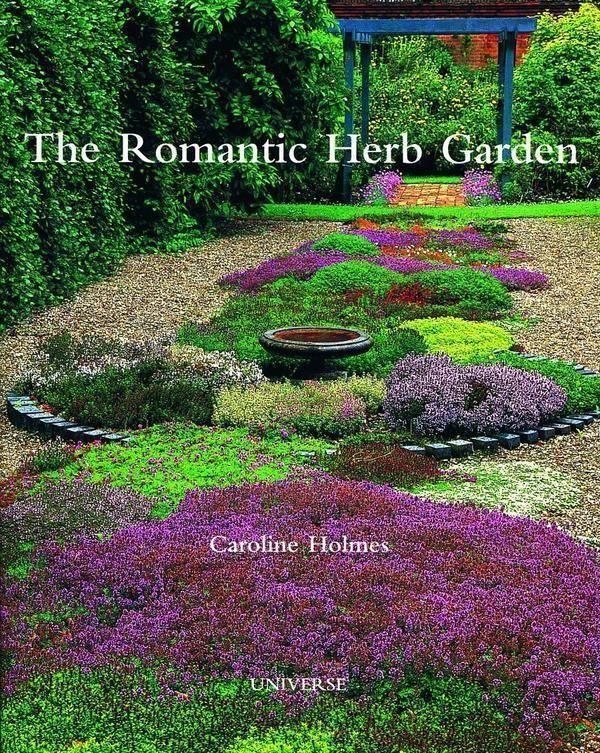 The Romantic Herb Garden Herbgarden Vertical Gardening Diy
