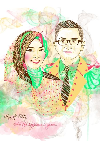 Congrats, Ina, for your pretty marriage! It's present from your beloved sister, Tami that loves you very much and always wishing you a wonderful life!  #art #illustration #drawing #draw #jellychic #arts #digitalart #design #artsy #colorful #lovely #picture #artist #sketch #sketchbook #paper #pen #pencil #artsy #instaart #beautiful #instagood #gallery #masterpiece #creative #photooftheday #instaartist #graphic #graphics #artoftheday