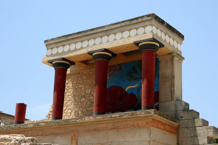 Minoan Palace of Knossos, Greece - One of the oldest buildings in the world.