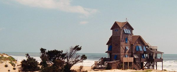 rodanthe.: Film Night, Favorite Places, Serendipity Houses, Rodanth Houses, Outer Banks, Favorite Books Movies Show, Beaches Houses, Movie Nights, North Carolina