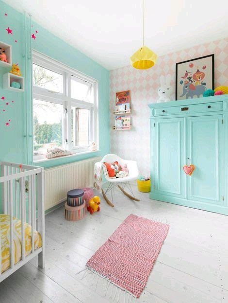Rengarenk çocuk odası