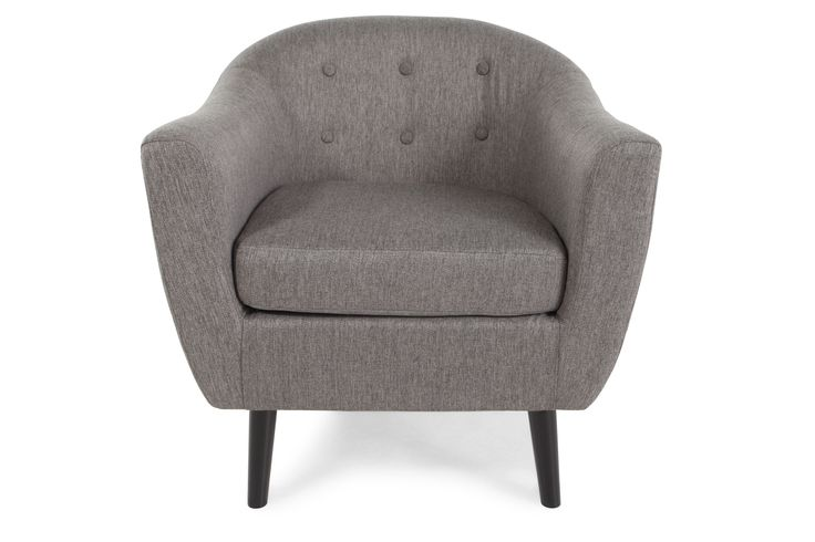 Ashley Klorey Charcoal Accent Chair | Mathis Brothers Furniture