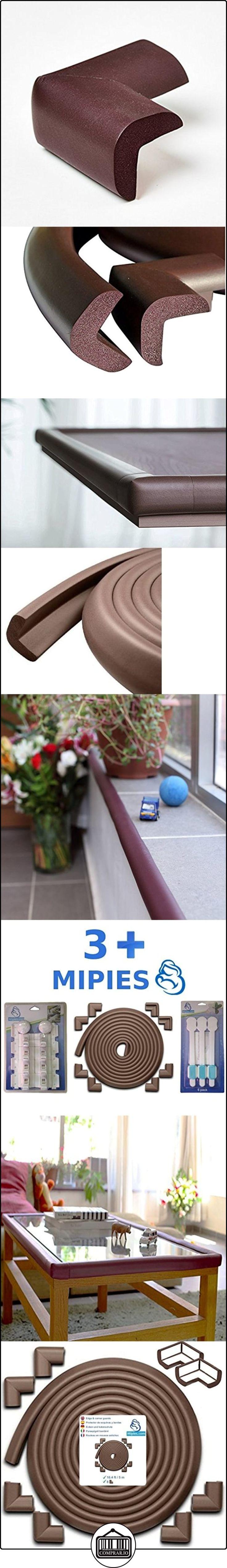 Rollo Protector de Esquinas y Bordes para Bebes y Niños | Aumenta la Seguridad del Bebe en cualquier tipo de Muebles | Rollo acolchado goma de 5 metros y 8 esquinas Antigolpes | 100% Garantía y Envío Gratuito  ✿ Seguridad para tu bebé - (Protege a tus hijos) ✿ ▬► Ver oferta: http://comprar.io/goto/B01LYK3T3G