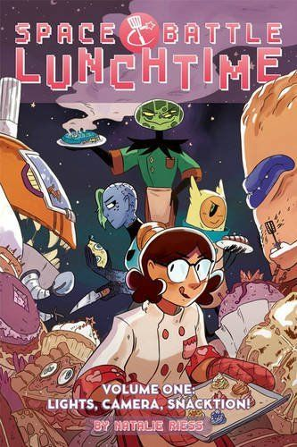 Space Battle Lunchtime Volume 1: Lights, Camera, Snacktion!  Oni Press