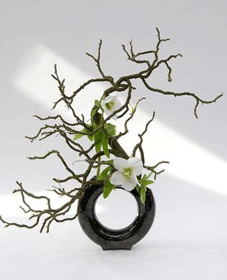 how to make ikebana flower arrangement | Graceful Ideas for Spring Decorating with Plants and Flowers
