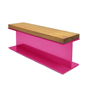 hot pink + woodCo Lucky Beams, Benches Chairs, Download Image, I Beams Benches, Design Co Lucky, Furniture, Katch Design, Products, Bright Colors