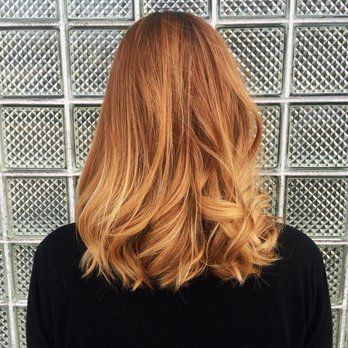 Strawberry blonde forever! Balayage by Lauren   Yelp