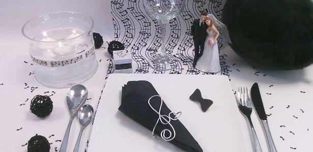 d coration de mariage sur le th me musique pour une c r monie qui se termine sur une belle note. Black Bedroom Furniture Sets. Home Design Ideas