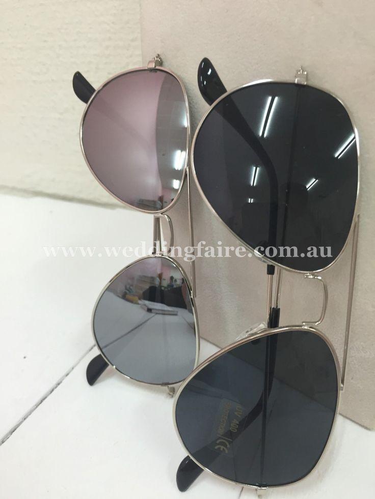 Kids Classic Aviator Mirrored Sunglasses UV400 - The Wedding Faire