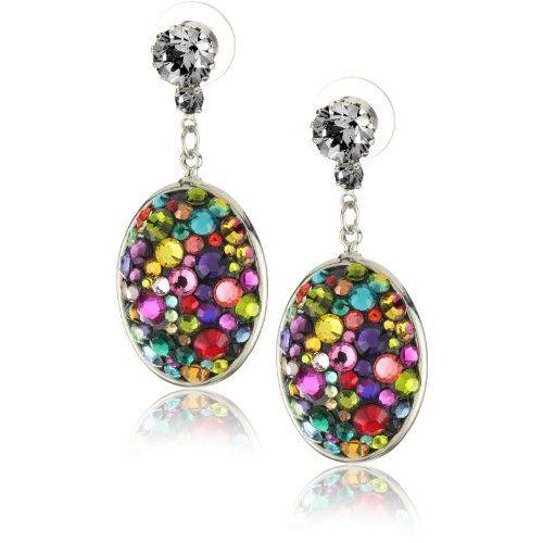 TARINA TARANTINO Jubilee Crystallized Domed Earrings